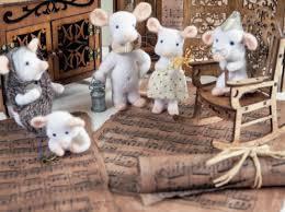 Красавица - <b>мышка</b> в технике сухого валяния / Валяние / В ...