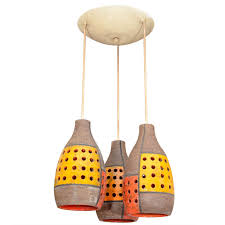 italian ceramic pendant fixture from a unique collection of antique and modern chandeliers and pendants at