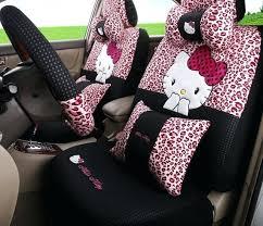 car seats pink cheetah car seat leopard hello kitty seats cover cartoon sedan chairs covers