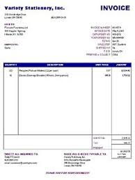 Basic Invoice Template Microsoft Word Sample Basic Invoice Archives Blue Layouts