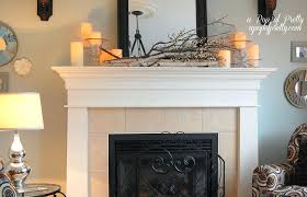 candles for fireplace mantel cool candle decor ideas excellent best home design 24