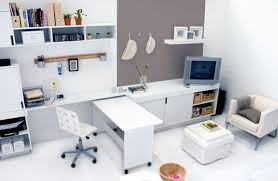 decorating ideas for small office. Small Office Ideas. Modern Home Design Decoration With White Furniture Contemporary Decorating Ideas For