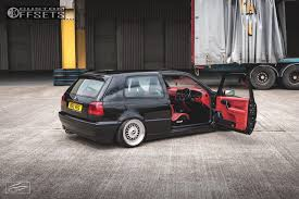 4 1997 golf volkswagen rayvern bagged bbs rs polished