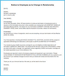 Letter Of Termination Of Employment For Insubordination New Sample