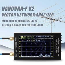 NanoVNA F V2 4.3 inç IPS LCD ekran vektör ağ analizörü S A A 2 anten  analizörü kısa dalga HF VHF UHF|