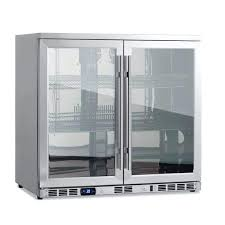 counter display cooler beverage cooler fridge with heating glass double door commercial countertop refrigerated display case