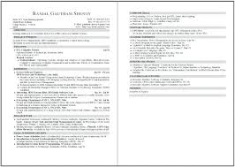 Two Page Resume Sample Sarahepps Com