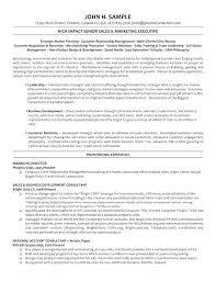 Management Cv Senior Management Cv Template Executive Management Sample