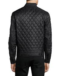 Burberry Brit Howson Diamond-Quilted Jacket, Black & Howson Diamond-Quilted Jacket, Black Adamdwight.com