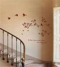 staircase mural wall art new home