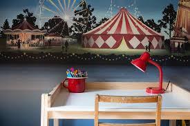 circus mural wallpaper studio spelling