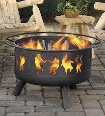 outdoor metal fireplace ideas