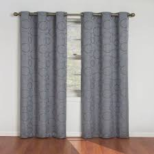 eclipse meridian blackout river blue curtain panel 95 in length 11250042x095rvb the home depot