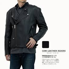 red lining n035 jtp leather with cowhide double riders jacket black men quilting lining genuine leather leatherette jacket leather jacket batting