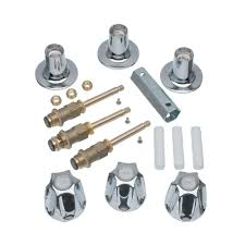 danco 3 handle trim kit for pfister verve faucets in chrome valve not