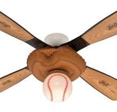ceiling fan 44 inch. hunter 23252 baseball fan, 44-inch indoor ceiling fan \u2013 leather look 44 inch
