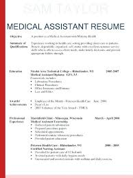 Medical Assistant Example Resume Medical Assistant Resume Crossword Unique Medical Assistant Summary For Resume