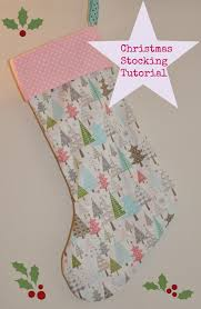 Christmas Stocking Sewing Pattern Cool Sew Scrumptious Christmas Stocking Tutorial And Pattern