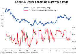 Chart Of The Week Usd The Making Of A Crowded Trade