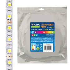 Купить Св.диодная <b>лента</b> 7,2W 12V IP20 30LED RGB <b>Volpe</b> в ...