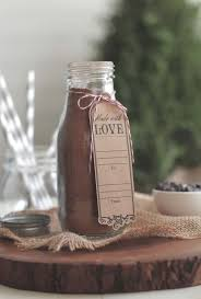 a diy homemade hot chocolate mix made without refined sugar or powdered