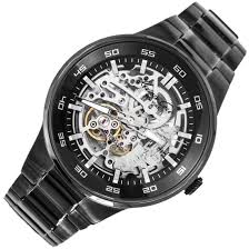 kenneth cole black stainless steel mens watch kc9343