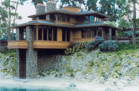 frank lloyd wright home designs. frank lloyd wright style houses projects idea of 5 prairie house plans images home designs