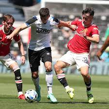 Derby vs Manchester United highlights and reaction as Pellistri and Chong  score in pre-season win - Manchester Evening News