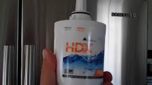 Fridge Filters Installing Hdx Water Filter For Samsung Fridge Youtube
