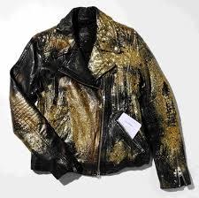 kim gordon untitled barneys new york women s medium custom leather jacket christie s