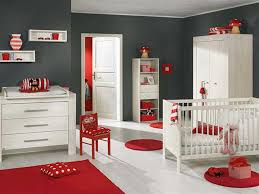 Nursery Bedroom Bedroom Pinky Baby Room With Simple Cradler On Wooden Flooring