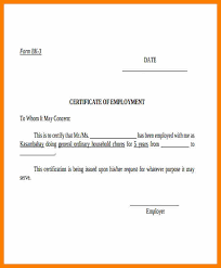 9 Certificate Letter Format Weekly Template