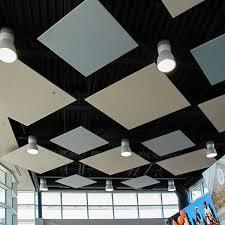 Acoustic Ceiling Lights Alphasorb Fr701 Acoustic Ceiling Cloud In 2019 Ceiling