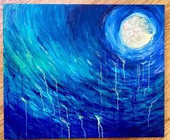 jillian mara blue moon wall art