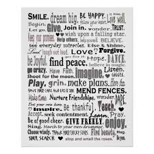 Inspirational Collages Inspirational Word Art Collage Poster