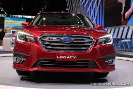 2018 subaru 3 6r. delighful 2018 2018 subaru legacy 36r limited red sedan car on display chicago auto show  1  the news wheel and subaru 3 6r b