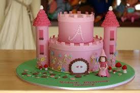 Princess Birthday Blue Castle Cake Topper Girl Birthday Princess