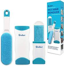 1 Double-Sided Standard-Size, 1 Travel Pet <b>Hair Removal Brush</b>