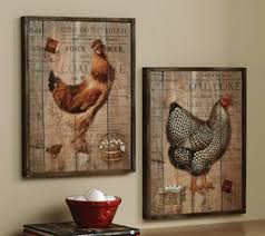 Rooster Kitchen Decor Rooster Wall Decor Metal Design Ideas And Decor