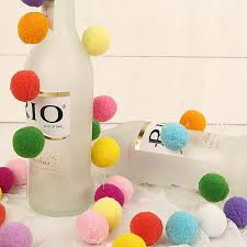 How To Make Fluffy Decoration Balls PINJEAS 100pclot Plush Ball felt Soft Balls Fluffy Pattern Easy 73