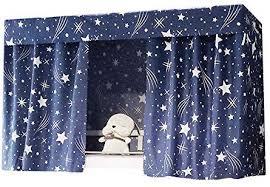 LA HAUTE Galaxy Starry <b>Bed Canopy Single</b> Sleeper Bunk <b>Bed</b> ...