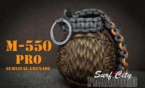 Paracord Survival Grenade from InventorsSpot