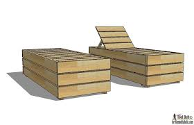 enjoy the weather outdoor in style build a diy outdoor lounge chair with these free