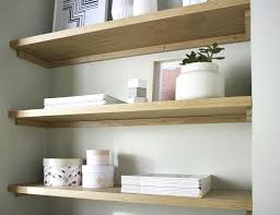 Oak Corner Floating Shelves Large Wall Shelves Oak Floating Shelf Solid White P Thick Shelves 14