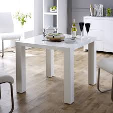 high gloss square  seater dining table