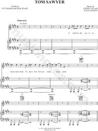 This song are available in piano tiles 2 umod and this song was listed at no. Rush Tom Sawyer Sheet Music In E Major Transposable Download Print Sheet Music Music E Major