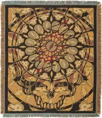 Dream Catcher Blankets TrippyStore Grateful Dead Dreamcatcher Woven Blanket 51