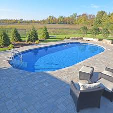 inground pools. Foxpool Ultimate Oval Pools Inground