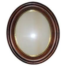 antique oval picture frames. Antique Victorian Walnut Oval Recessed Picture Frame - 11\ Frames