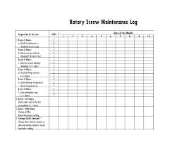 Free Vehicle Repair Log Template Maintenance Tracker By